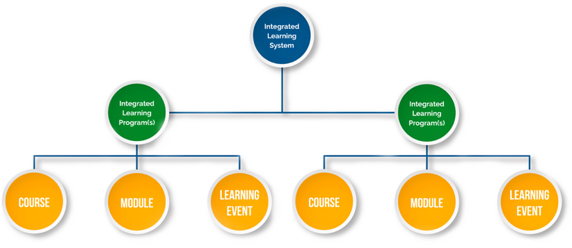 Tree diagram of Integrated Learning System
